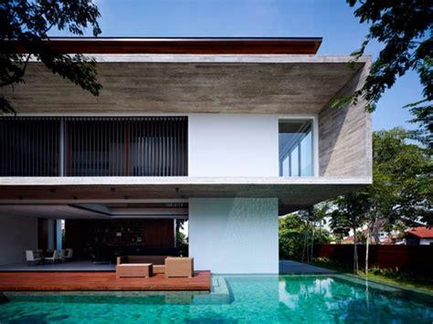 Moderne Häuser Mit Pool by Moderne H 228 User Mit Integrierten Swimmingpools