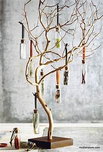 Tree, Branches, To, Display, Handmade, Products, At, A, Craft, Fair, Small, Items, Jewelry, Accessories