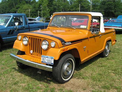 commando jeepster file 1971 jeepster commando sc 1 pickup orange l cecil 39 10