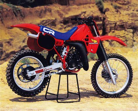 honda cr 125 gp s classic steel 26 1984 honda cr125r pulpmx