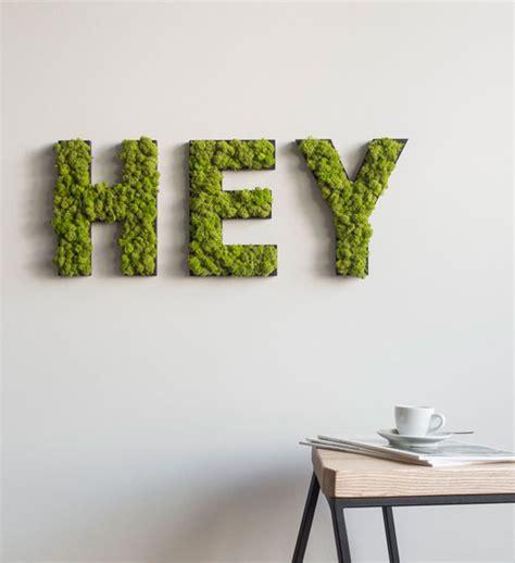 Für Die Wand by Moos Buchstaben F 252 R Die Wand Im Greenbop Shop Kaufen