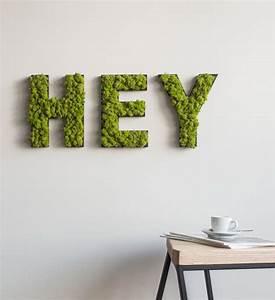 Schriftzüge Für Die Wand : moos buchstaben f r die wand im greenbop online shop kaufen ~ Lizthompson.info Haus und Dekorationen