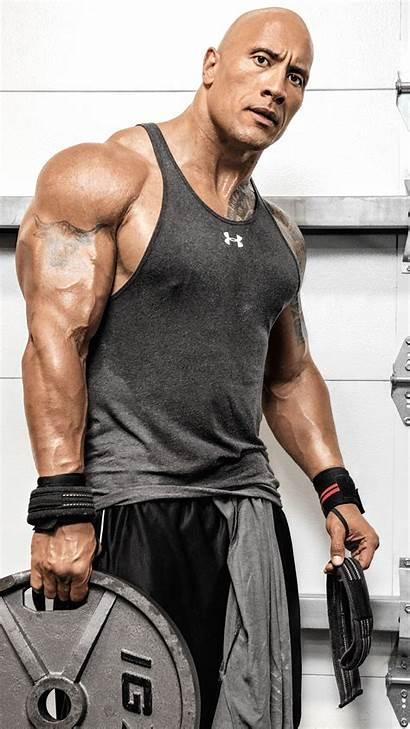 Johnson Dwayne Rock Workout Wallpapers 4k Iphone