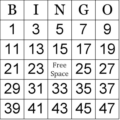 Math Bingo Worksheets Printable  How To Play Bingo Free