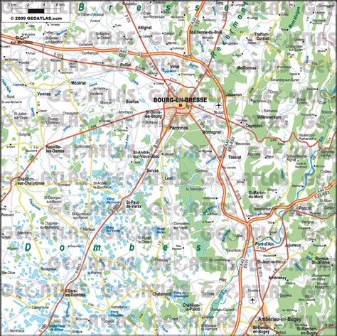 bourg en bresse preview maps