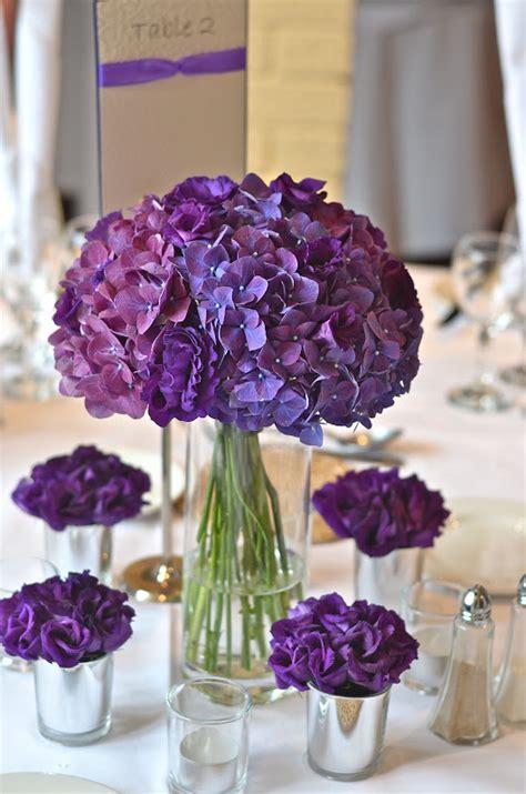 wedding flowers blog emmas contemporary purple wedding