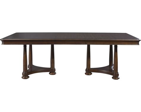 rectangle dining room table rectangular dining table thomasville furniture