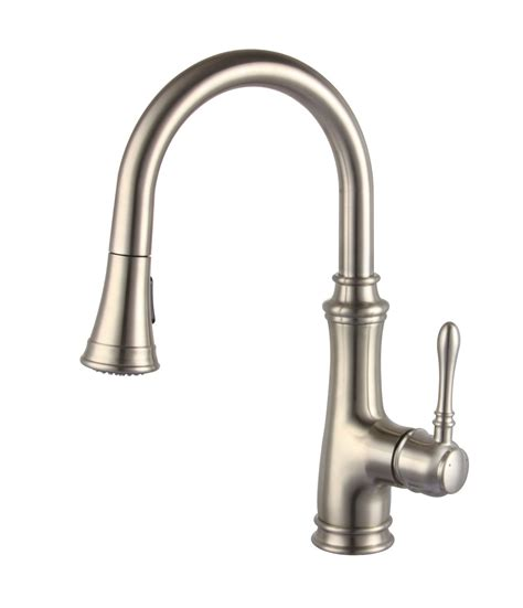 kitchen faucets sprayer allora a 726 bn kitchen faucet single handle pull