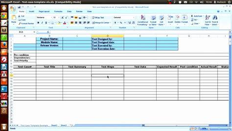 test script template excel excel templates excel