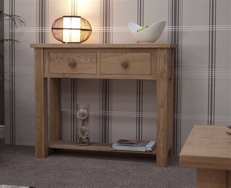 furniture for the hallway kingston solid oak hallway furniture small console hall table ebay
