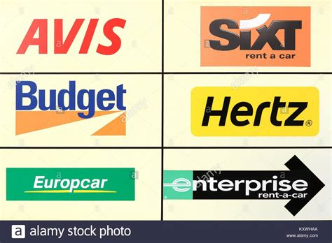 Avis Car Rental Stock Photos & Avis Car Rental Stock