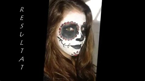 Maquillage Squelette Maquillage Squelette Mexicain