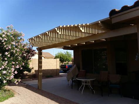 alumawood lattice patio cover mesa