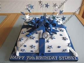 birthday cake ideas 70th birthday party ideas