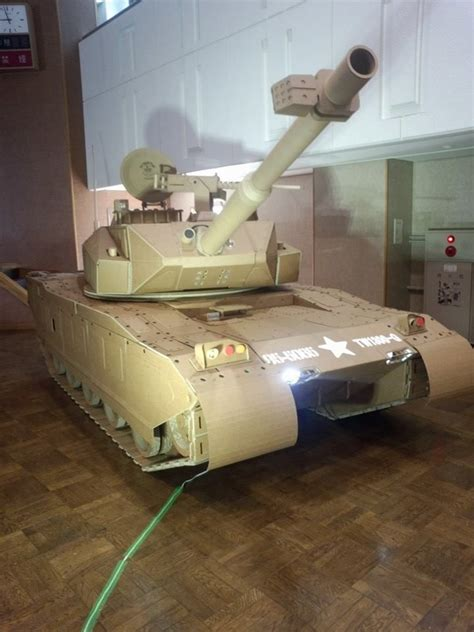 cardboard tank cardboard crafts craft activities