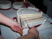 how to cut a wedding cake the business of weddings how to cut a wedding cake
