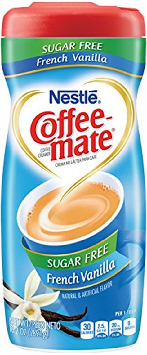 Find great deals on ebay for coffee mate french vanilla sugar free. Nestle Coffee Mate SUGAR FREE Coffee Creamer French Vanilla,6 Packs,total 61.2oz 11001898 | eBay