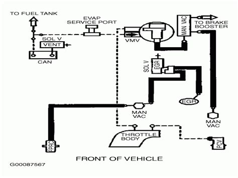 1999 Ford Vacuum Diagram by 1999 Ford Taurus Vacuum Hose Diagram Wiring Forums