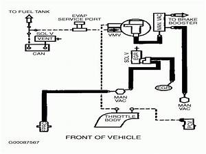 1999 Ford Taurus Vacuum Hose Diagram