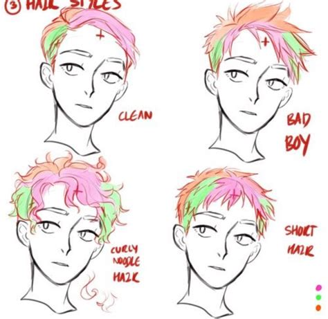 male hairstyles reference   drawings   draw