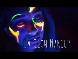 Glow- UV Makeup Ft. Photography Class - YouTube