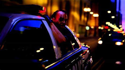 Dark Knight Joker Driving Police Car Scene