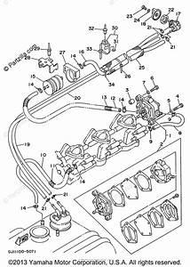 Yamaha Waverunner 1996 Oem Parts Diagram For Fuel