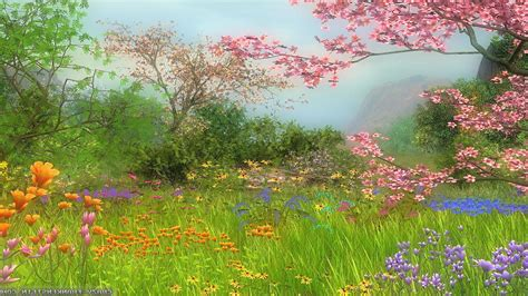 Desktop Wallpaper Spring Scenes ·①