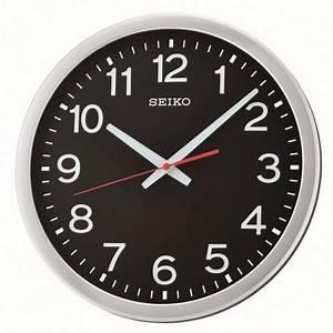 Horloge Murale Silencieuse : horloge murale noire avec aiguille silencieuse ~ Melissatoandfro.com Idées de Décoration