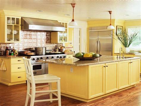 Yellow kitchens, yellow kitchen design pale yellow kitchen
