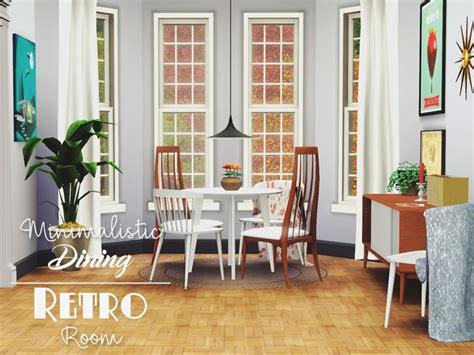 Pyszny16's Minimalistic Dining Retro Room