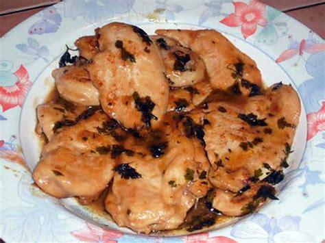 recette de cuisine escalope de dinde recette d 39 escalopes de dinde aux herbes