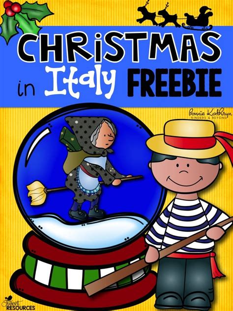 art project for italian christmas tradition in italy freebie includes an interactive writing activity craft idea country