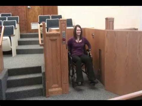 wheelchair lift for church butler mobility products