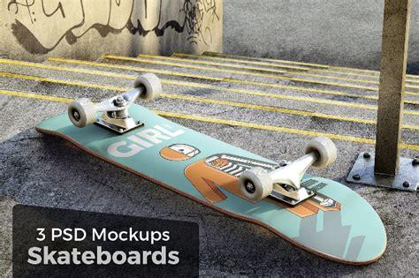 skateboard mockups design ginva