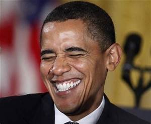 old photographs laughing | Laughing Obama | The Internet ...