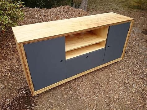 plywood entertainment unit plywood furniture