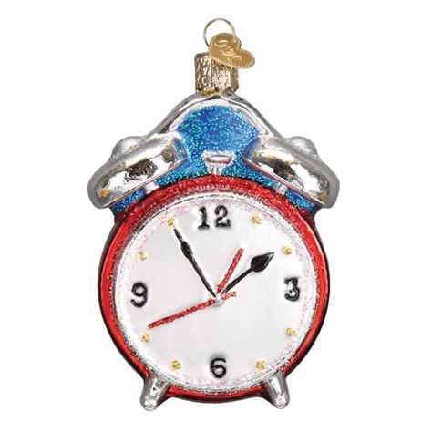 alarm clock 32252 old world christmas ornament