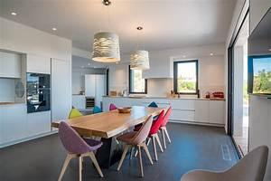punta d39oro a louer villa neuve contemporaine avec vue mer With salle À manger contemporaine avec cuisine Équipée u