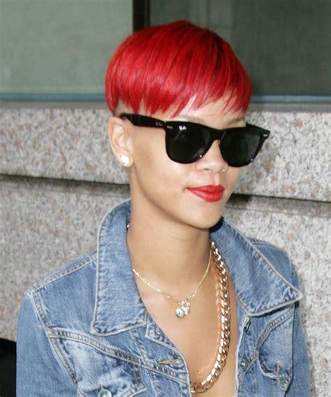 Rihanna Has Red Hair Spoiled Pretty