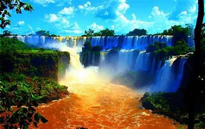 Wallpapers Falls Screen Computer Background Waterfall Zambia