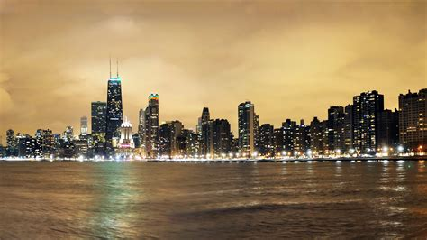 hd chicago skyline wallpapers pixelstalknet