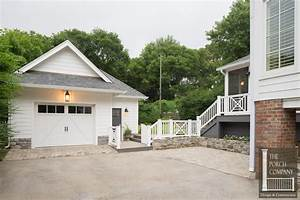 Screened Porch and Garage Oasis - The Porch CompanyThe