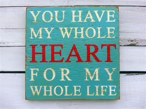 typography wood sign     heart wall decor   etsy general signs