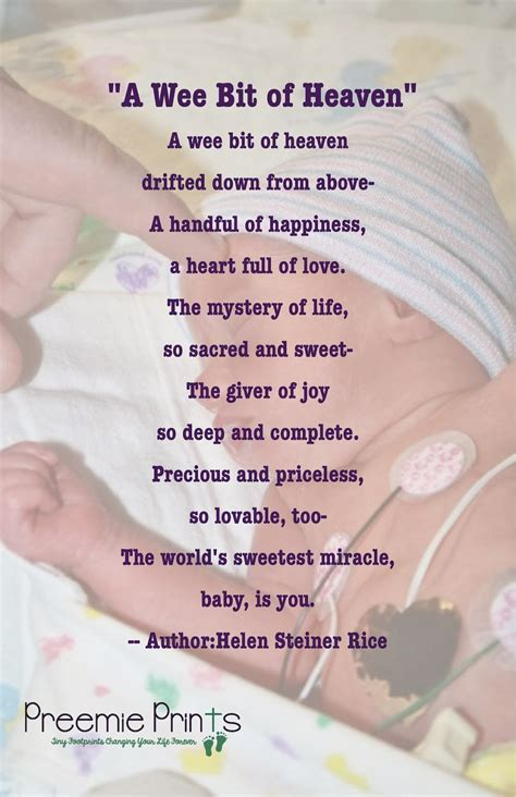 A Beautiful Baby Poem!  Inspiration For Nicu Parents