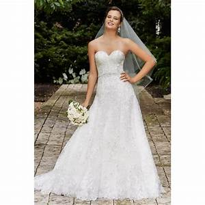 wtoo 14717 estelle embroidered lace tulle beaded belt With a line wedding dresses 2017