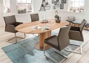Esstisch Oval Weiß Ausziehbar : esstisch solo ii oval ausziehbar integrierte platte ~ Watch28wear.com Haus und Dekorationen
