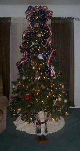 Patriotic Christmas tree For the Home