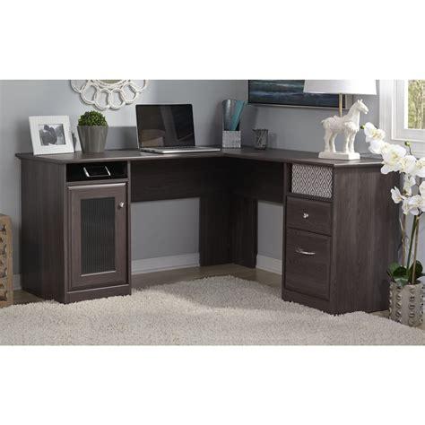 bush cabot l shaped desk office suite l shaped office desk kmart