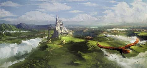 artstation fantasy plains vladimir mladenovic
